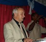 Pastor Ian Moore