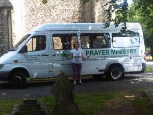 Marina at the Holy Trinity in Halstead June 2011